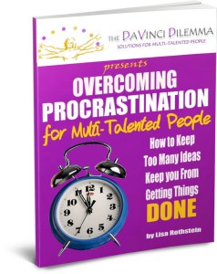 Overcoming Procrastination For Multi-Taltented People