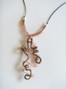 Necklace by Liisa Kyle. (c) Liisa Kyle.